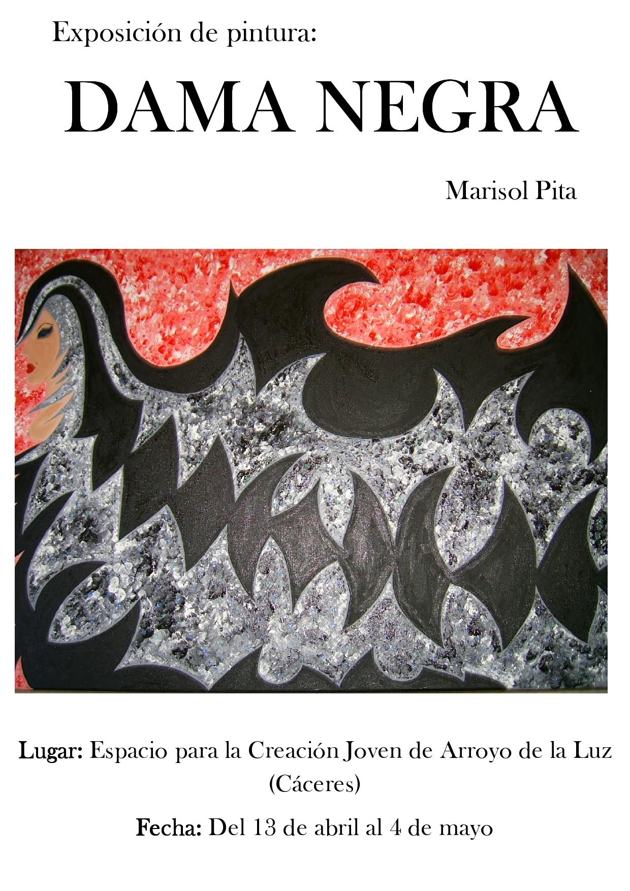 La exposición 'La Dama Negra' se encuentra en Arroyo hasta el 4 de mayo