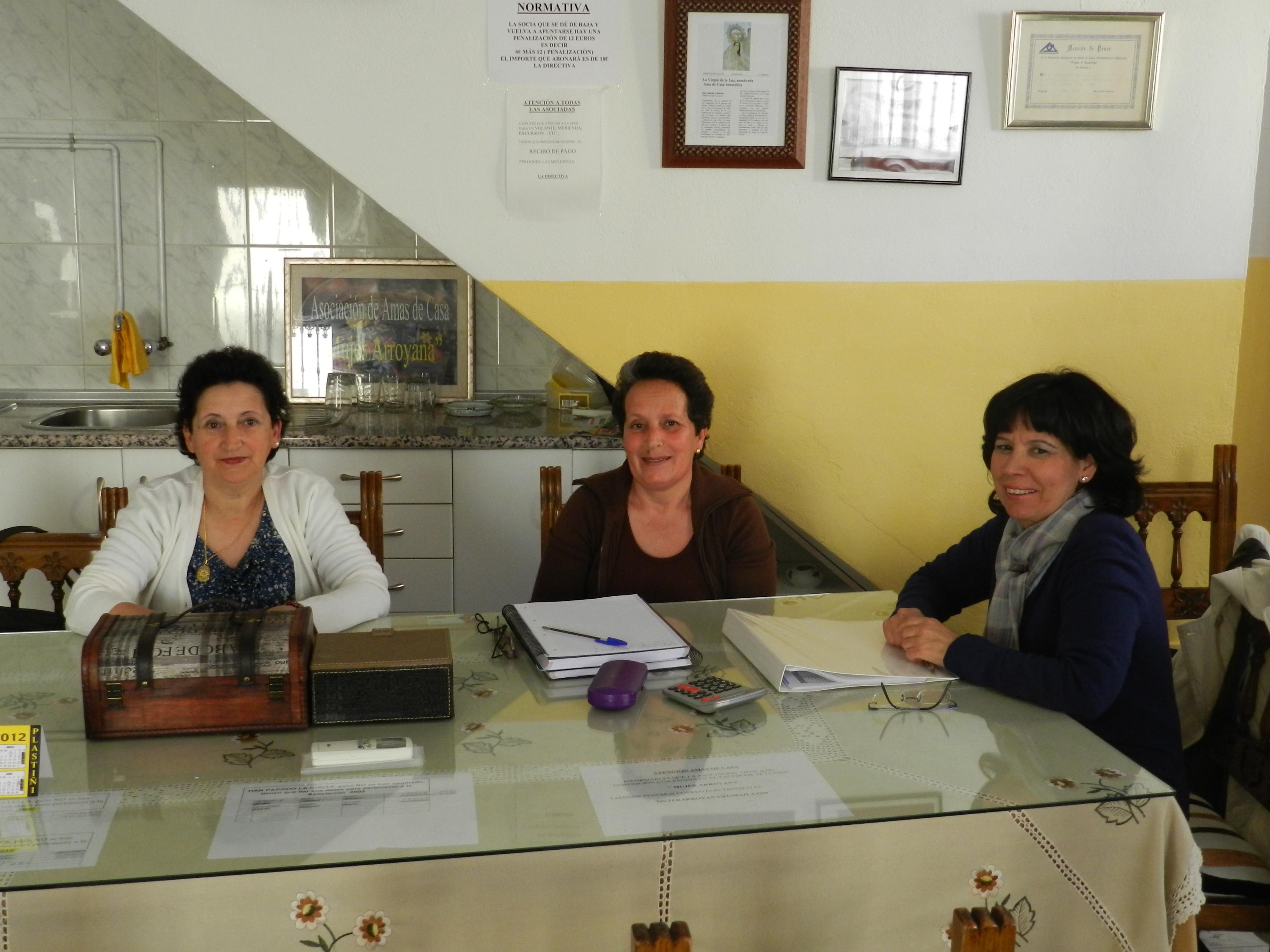La Asociación Amas de Casa 'Mujer Arroyana' tiene una gran fuerza social