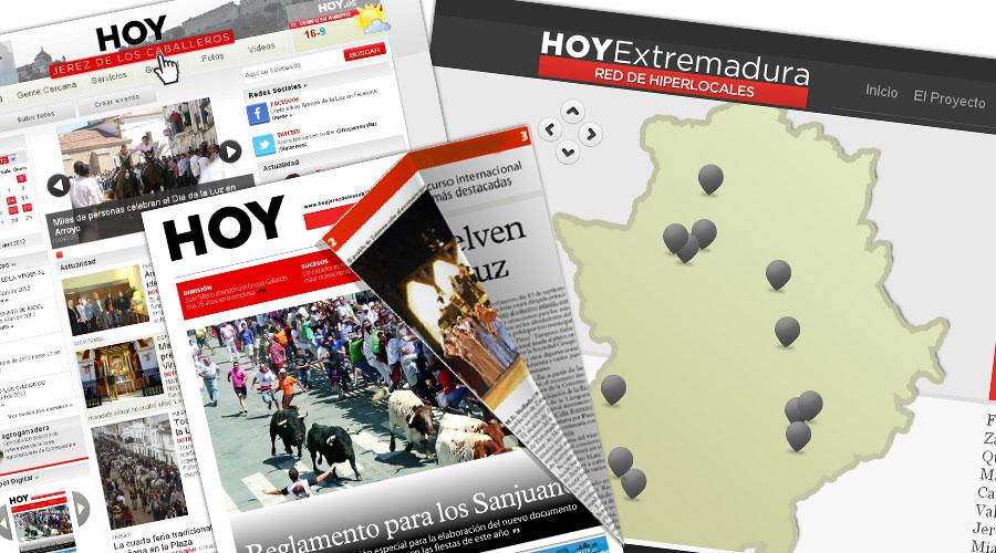 La red de hiperlocales de HOY estrena nueva imagen