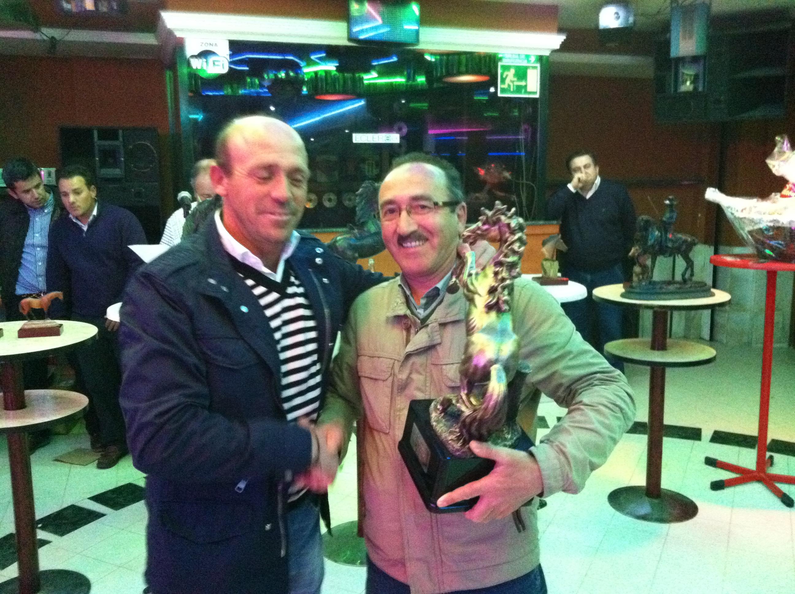 La Asociación 'Amigos del Caballo' dio ayer su entrega de premios