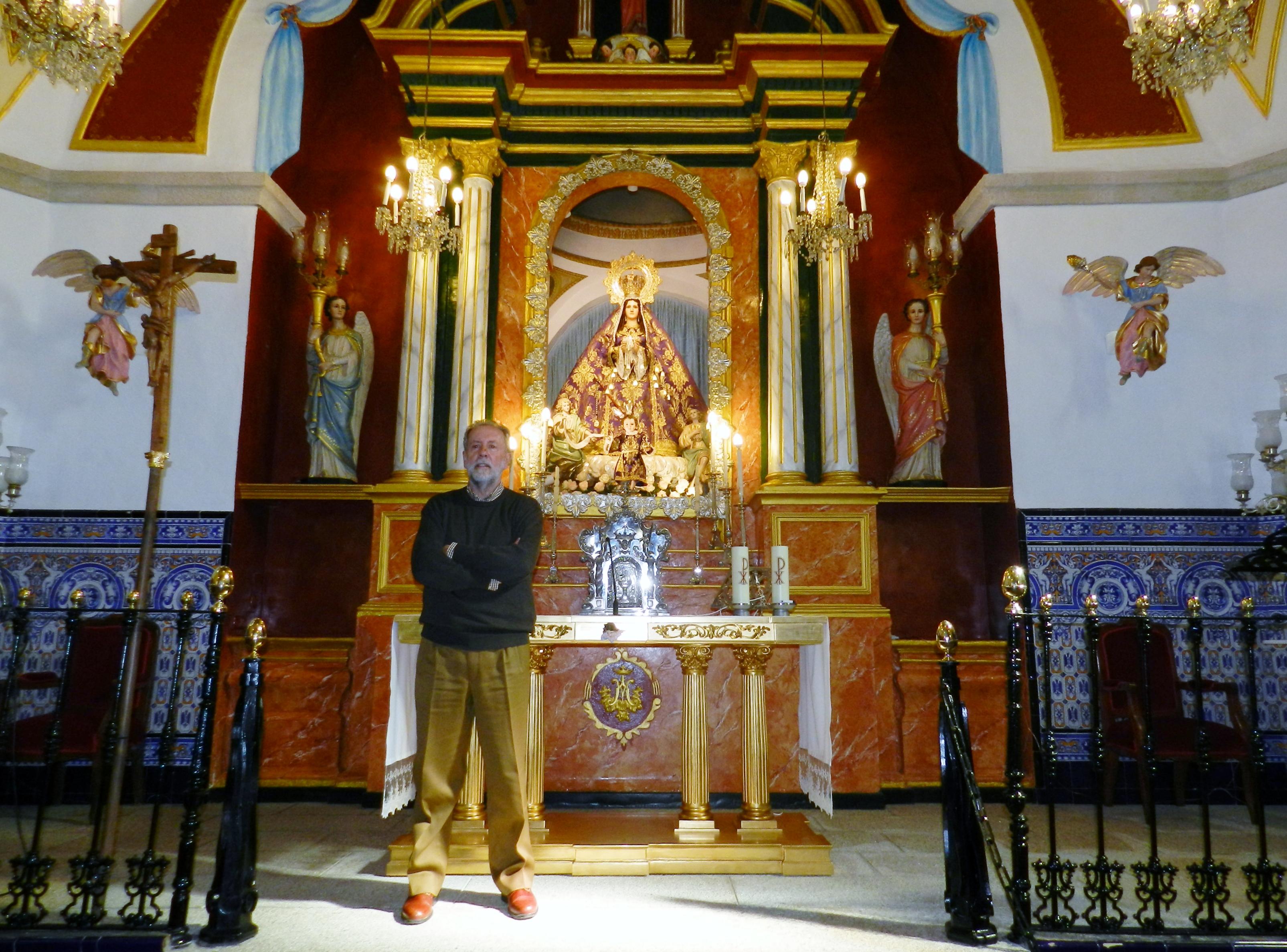 Martín Panadero Rubio, presidente Mayordomo de la Virgen