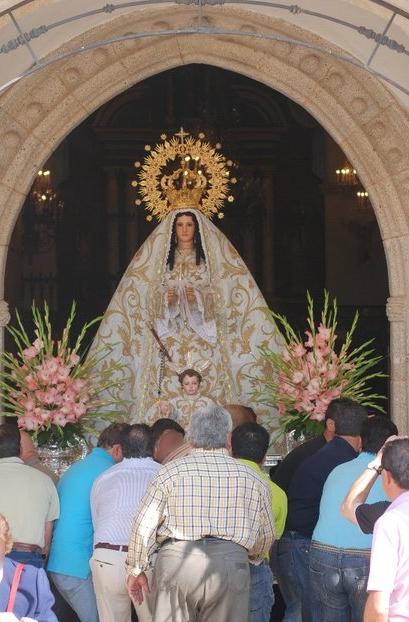 Los arroyanos despedirán mañana a su Patrona, la Virgen de la Luz, que regresará a su santuario