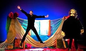 La compañía Murática Teatro representa mañana 'El libro mágico'