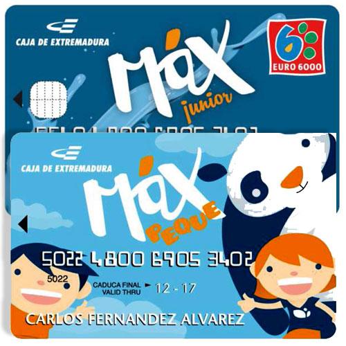 Caja de Extremadura ofrece una tarjeta gratis para niños y jóvenes