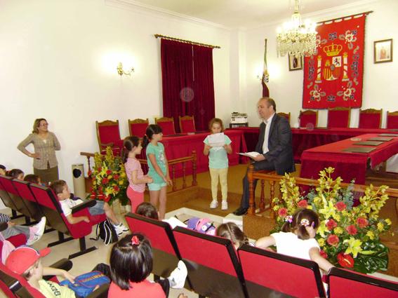 Los escolares del CEIP Nuestra Señora de la Luz conocen la localidad