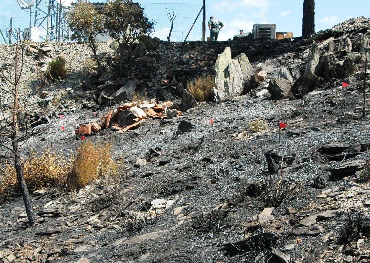 La Guardia Civil activa un dispositivo especial orientado a la prevención de incendios forestales en la Provincia