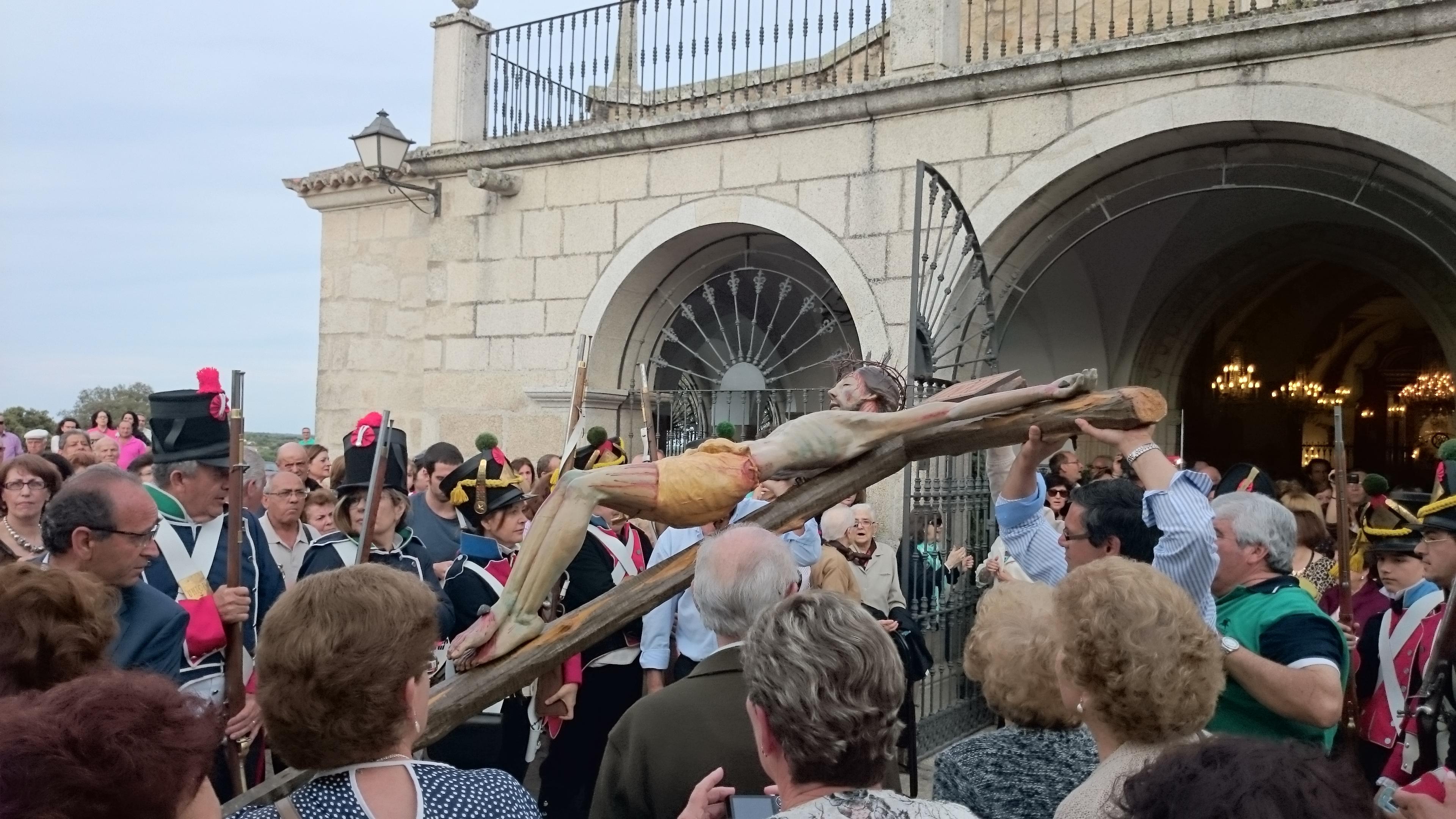 El Cristo de la Expiración salió en procesión después de 74 años