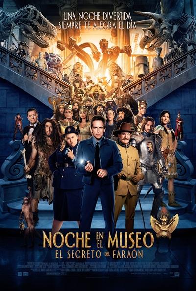 'Noche en el museo: El secreto del faraón' es la película de hoy en el Cine Teatro Municipal