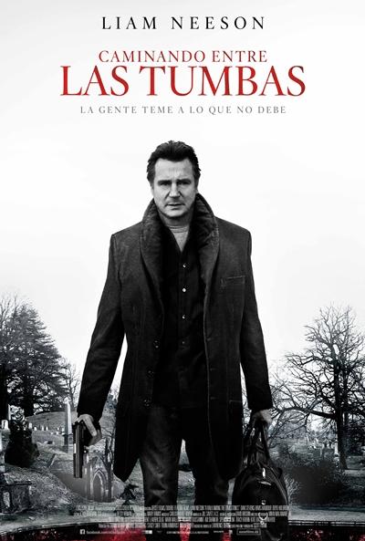 'Caminando entre las tumbas' es la película para mañana domingo en el Cine Teatro Municipal