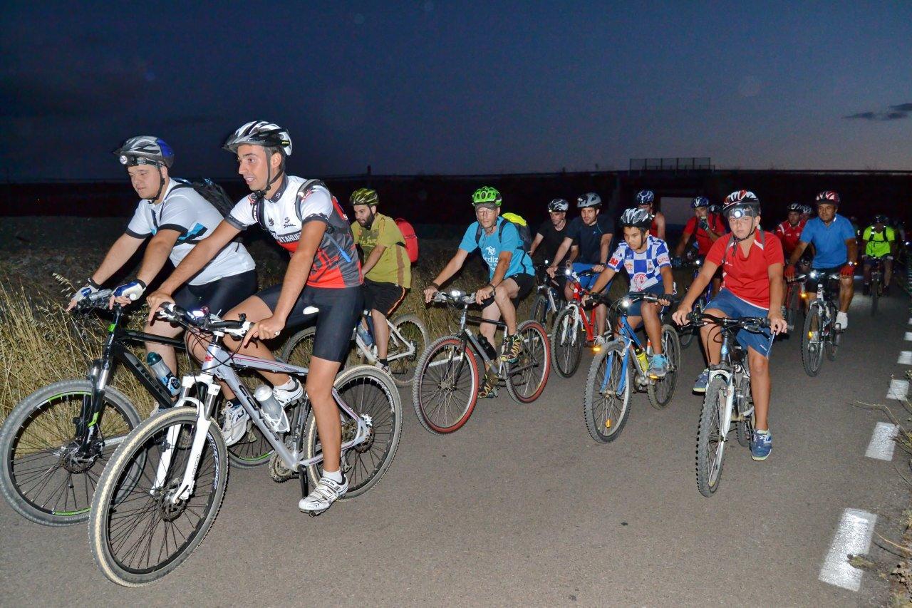 Ruta ciclista nocturna APyF