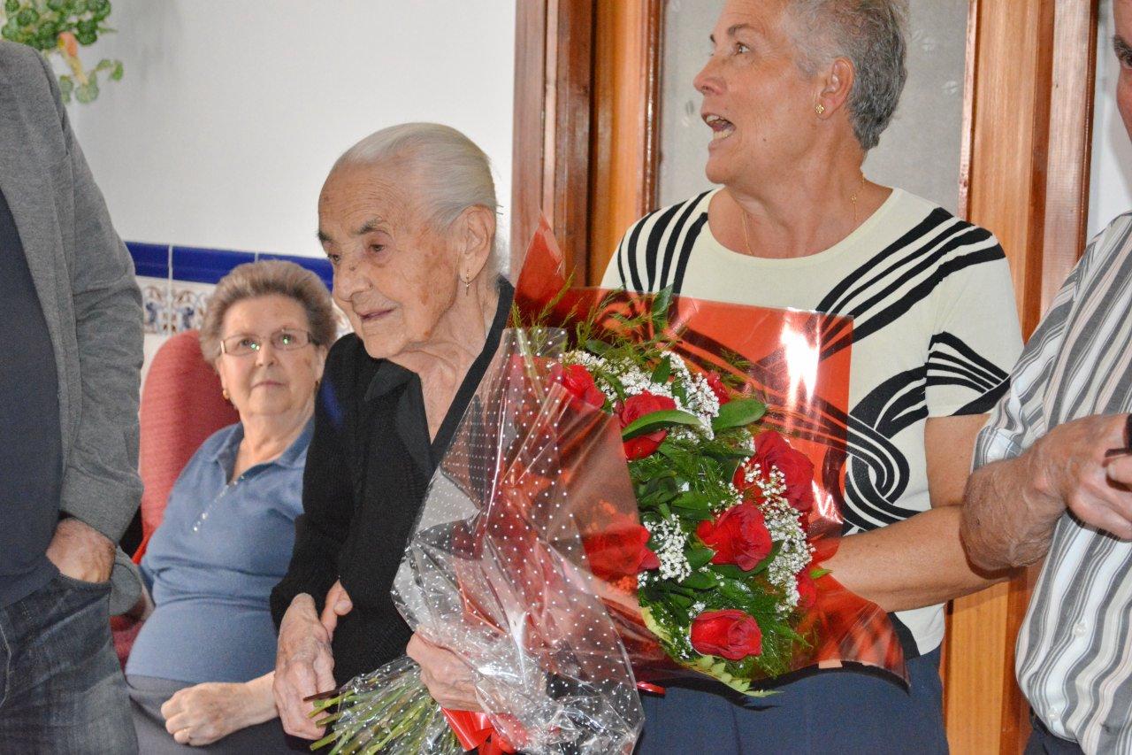 Remedio Aparicio cumple 100 años
